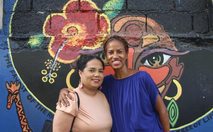 Love Not Likes visits Kingston Creative's Artwalk
